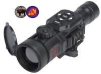 ATN TICOTC350B TICO Series Thermal Clip-On 1st Gen 1x50mm 9 deg , Electronics, ATN TICOTC350B TICO Series Thermal Clip-On 1st Gen 1x50mm 9 deg , ATN TICOTC350B TICO Series Thermal Clip-On 1st Gen 1x50mm 9 deg x 7 deg FOV Blk The TICO-Series Thermal Imaging Clip-On gives your daytime scope thermal imaging capability in a matter of seconds. The ATN TICO-Series mounts in front of a daytime scope to enable thermal vision in day or nighttime operation. No shift of impact, no need to rezero nor change of eye relief occurs. The ATN Tico Series uses advanced thermal technology for outstanding resolution and performance. Every ATN TICO-Series is individually tested and aligned to the highest tolerances to provide perfect alignment. It has a video output and is resistant to all severe operating conditions. It has white how, black how and multiple color modes, icon driven manual controls and a video output. The TICO-Series Thermal Clip-On is both lightweight and rugged. It is waterproof and dustproof with a housing made of hard anodized 6061 T6 aircraft aluminum and comes with quick release mounts.