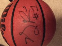 autograph Derrick Rose basketball, Other, Spalding basketball with Derrick Rose autograph who plays for the Chicago Bulls NBA Basketball team