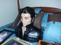 Elvis Memorabilia, Other, Life sized bust of Elvis. Talks and sings.  Has microphone.