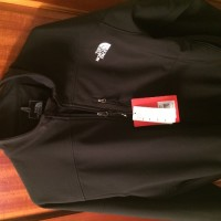The North Face Apex Bionic softshell jacket mans XXX black, Other, Softshell fleece jacket with packets on both sides.