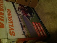 """Television, Electronics, Sylvania, LC220SS1, 22"""" LCD Color TV, with HDMI and Aux ports"""