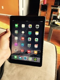 iPad air wifi 16gb, Electronics, iPad air wifi 16gb space gray, Comes with box and charger no dents or scratches on frame rarely used always in case