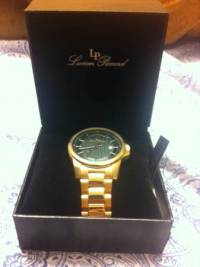 gold watch Lucien Piccard brand new in box, Hello I'm selling my rose gold watch which is brand new and in perfect condition in the box, Like new