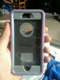 iphone 6 otterbox, Other, brand new, was only on my phone for 2 weeks. light purple