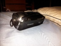 Camera, Electronics, Canon Vixia HF R300 Full HD Flash Memory Camcorder with 51x Adva, It is in a used condition and has been handled several times. In perfect working condition with minimal scratches.