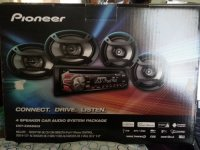 Pioneer 4 speaker audio sytem package DXT-X2669UI, Electronics, pioneer car stereo, 4 speaker car audio system package, includes cd receiver with direct ipod and iphone control two 6-1/2 2 way speakers and two 6x9 3 way speakers.