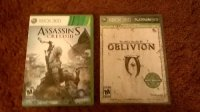 Assassins creed 3 and Oblivion , Other, Both games are in working condition