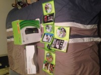 Xbox 360, Electronics, Xbox 360 Microsoft, Like brand new I got it a year ago only owner! Comes with Kinect and a wireless and cord controller. Also six games assassin creed black flag, call of duty ghost , McCain football 12 and max Payne 3 all like new