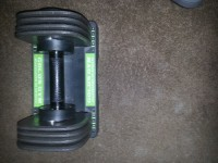 Gold's Gym 25lb weight , Other, Gold's Gym spacesaver 25 singles. Patent no. US6733424 B2