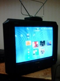 "rca sdtv truflat 14f514t, Electronics, rca sdtv truflat 14f514t, 14"" sdtv.. Built in digital converter.. HD TV compatible"
