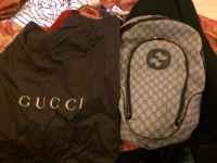 Gucci backpack, Other, It's a Gucci backpack still with bag that it comes in with the packaging paper in it