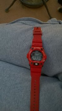 g shot watch, Luxury Watch, casio g shock, Its red and looks like new