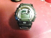 Gshock digital watch wr200m, Luxury Watch, Gshock wr200m, Water resistant, stainless steel, needs new battery but works great