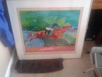 Leroy Neiman Secretariat Big Red serigraph signed , Other, Artist proof edition- artwork is in great condition. Great piece for lovers of horse racing