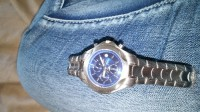 fuji watch, Luxury Watch, fuji, Its silver with dark blue watch part very nice