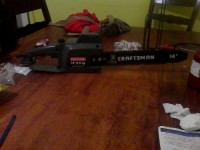 craftsman 14 inch chainsaw, Tools, Equipment, Craftsman 14 inch electric chain like new
