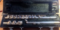 Yamaha 225SII Silver Plated Flute, Musical Instruments, Equipment, Yahama 225SII Silver Plated Flute, great condition, springs & pads all good. One minor ding in head near lip plate.