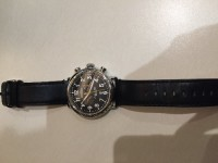 "Shinola Watch, Luxury Watch, Shinola ""The Runwell Chrono"", This is a less than 1 year old black Shinola Runwell Chrono 47mm. Retails for $750. No scratches or any other marks."