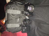 Cannon EOS Rebel t93, Electronics, Cannon Ds126291 , No damages , has cannon camera bag , battery pack and a removable lens