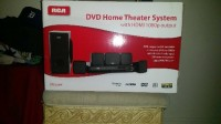rca home theater system , Electronics, rca rtd325w , Includes  everything ..dvd player. .6 speakers including subwoofer. .remote control. ..all accessories included. .still in the original  box. .