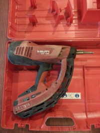 Hilti GX 120 , Tools, Equipment, Gas driven fastening tool. Includes case and manual.