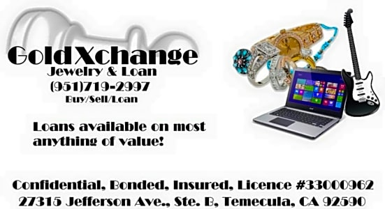 GoldXchange in Temecula – PawnGuru