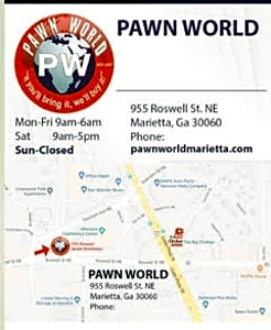 Pawn World in Marietta – PawnGuru
