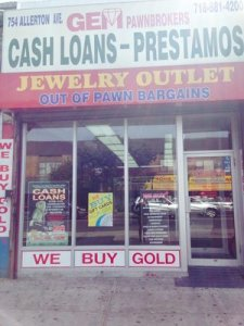 Gem Pawnbrokers Inc - Allerton Ave in Bronx – PawnGuru