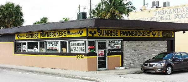 Sunrise Pawnbrokers, Inc in Fort Lauderdale – PawnGuru