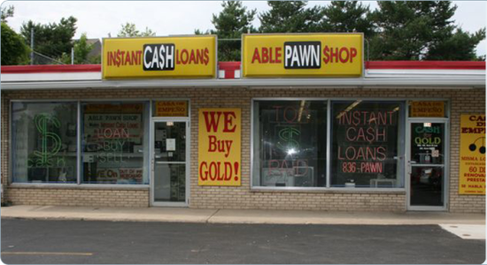 A Able Pawn Shop  in East Dundee – PawnGuru