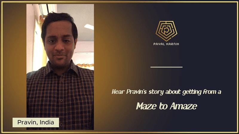 Pravins Video Testimonial