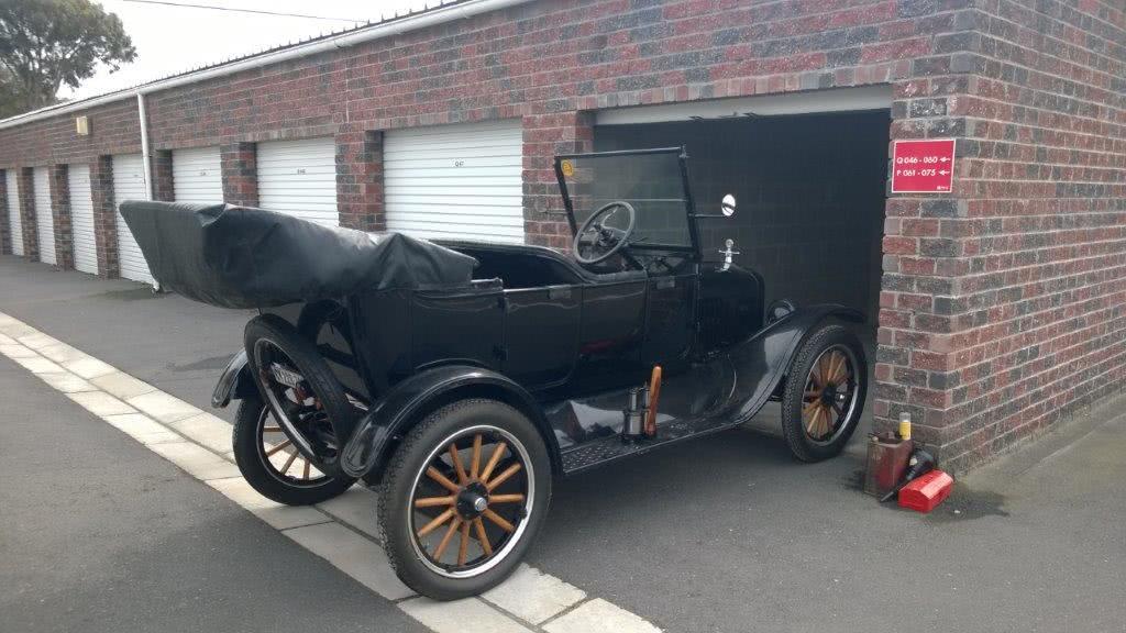Model T Ford Found In Self Storage