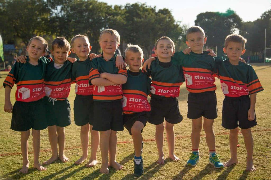 Dories Bulletjies Rugby Jerseys Sponsored By Stor-Age