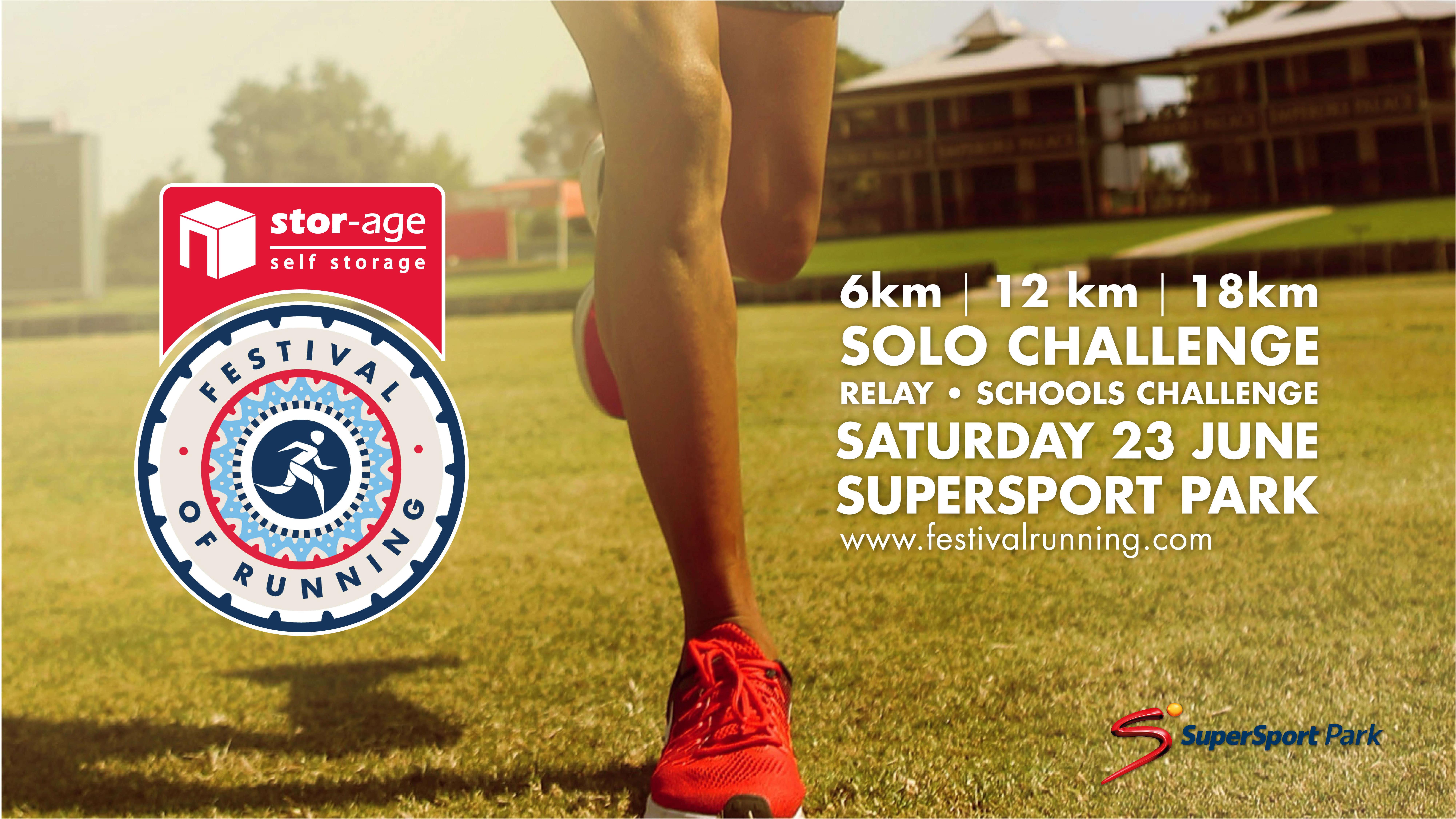 Stor-Age Announces Title Sponsorship of Festival of Running