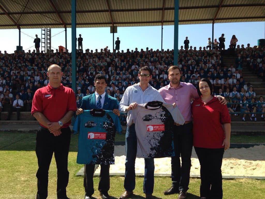 Hoërskool Garsfontein Receive Stor-Age Sponsored Rugby Jerseys