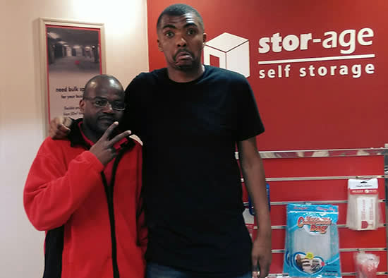 Who Uses Self Storage Anyway? Loyiso Gola For A Start