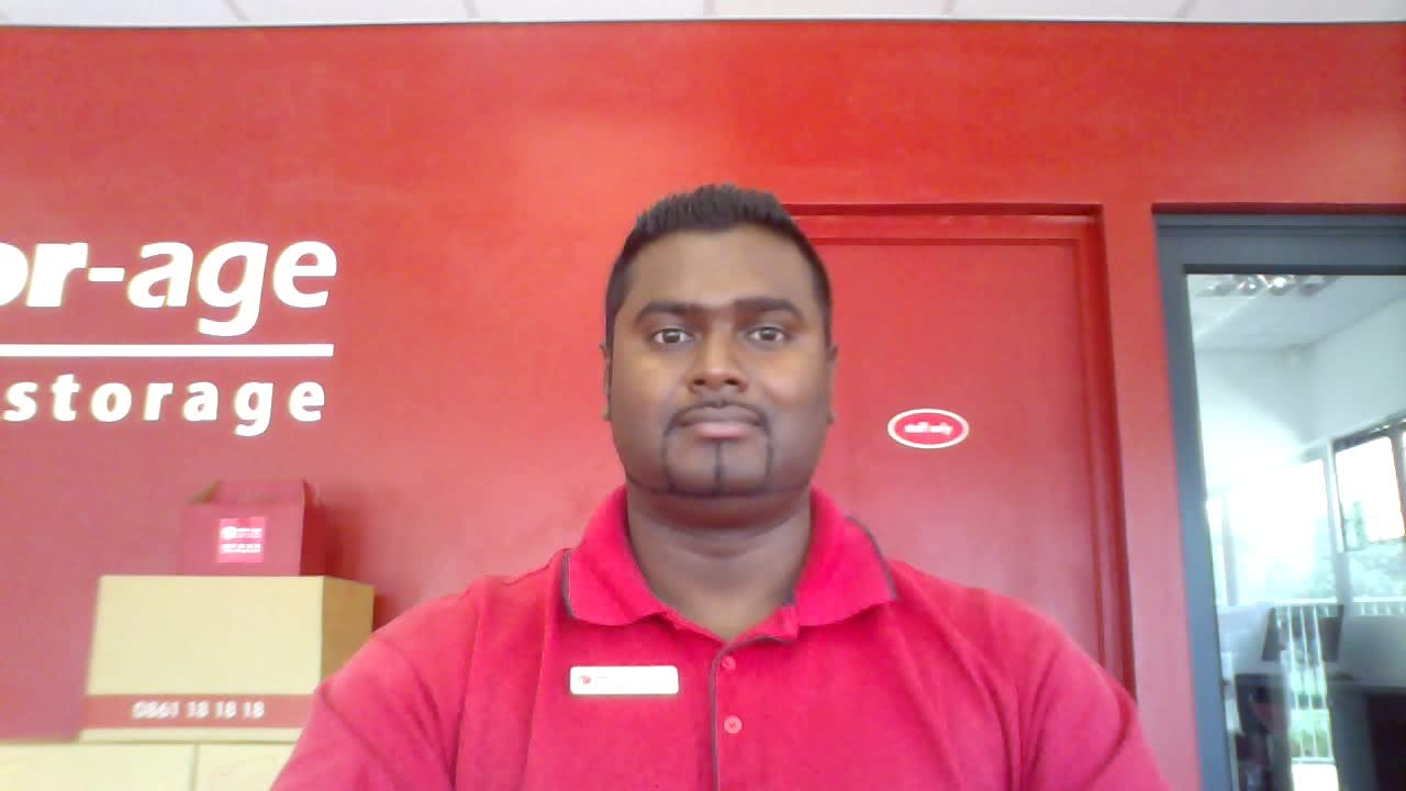 A Day In The Life Of A Stor-Age Manager - Rodhan Govender
