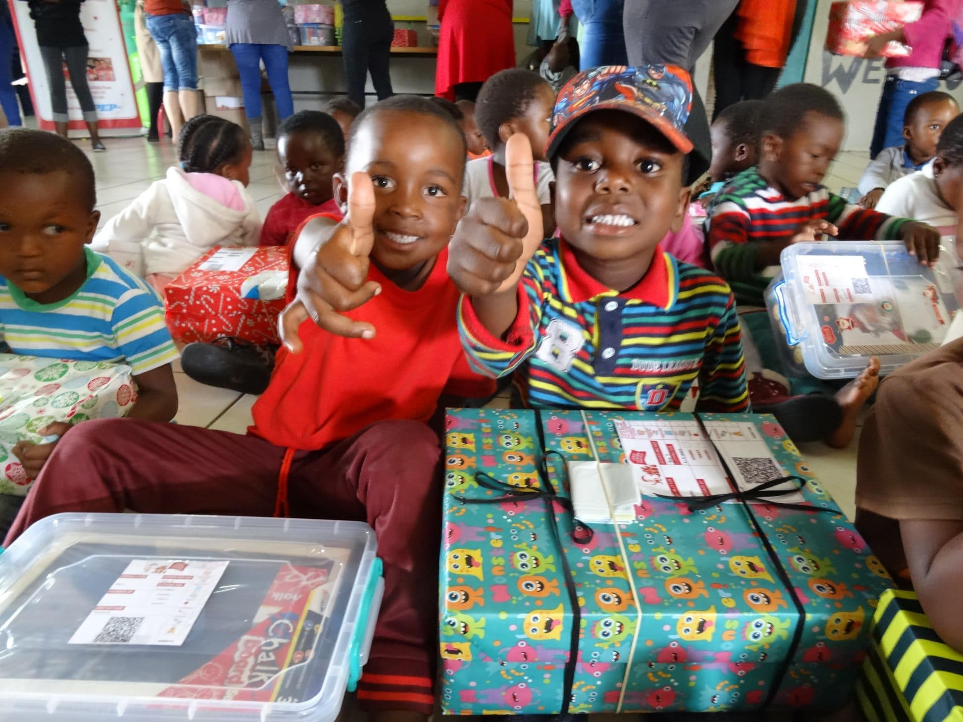 Collect Your Free Santa Shoebox Nationwide