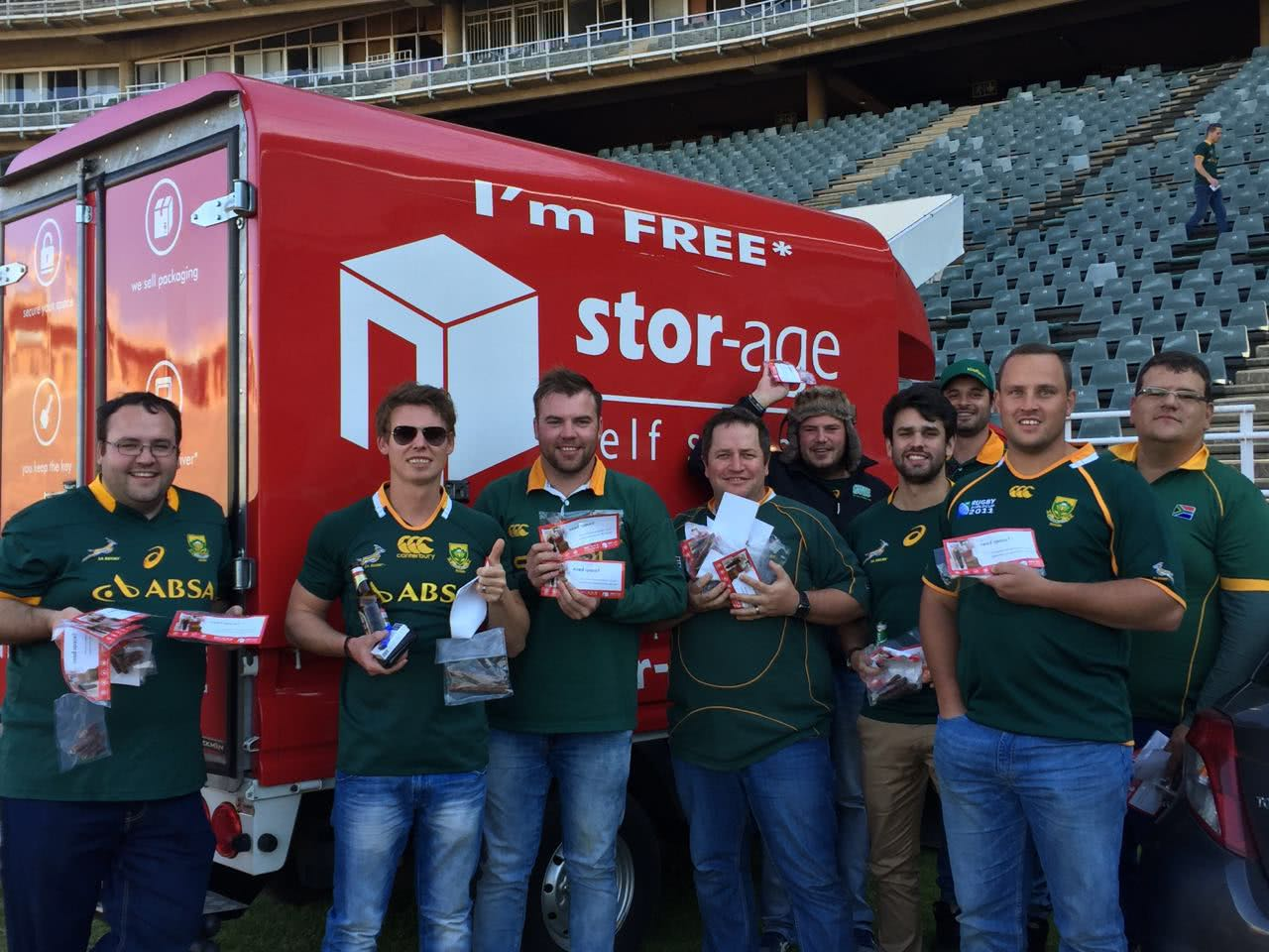 How To Score Free Biltong At Springbok Games