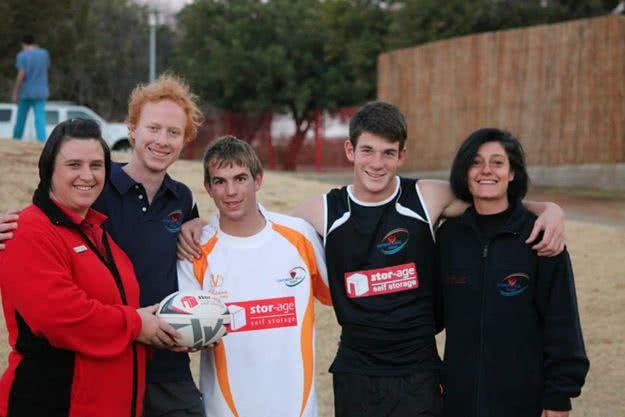 Stor-Age Sponsors Centurion Jeug Rugby Under 18's