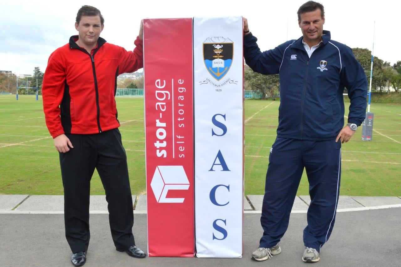 SACS And Beaumont Receive Stor-Age Rugby Sponsorship