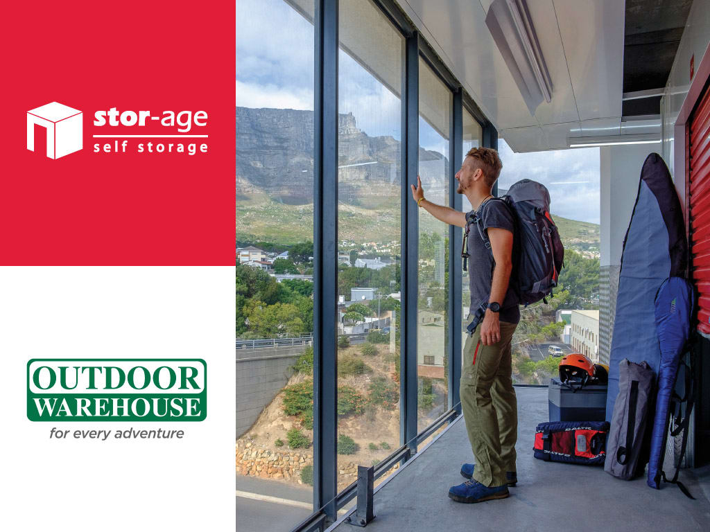 Stor-Age team up with Outdoor Warehouse Somerset West