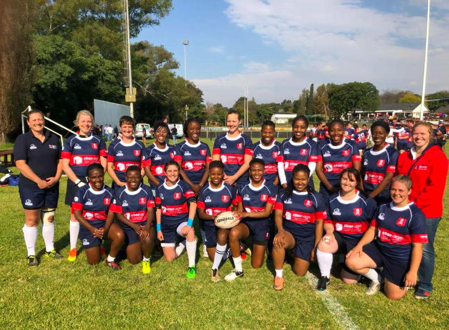 The Stor-Age Pirates Women's Rugby Team Go From Strength to Strength