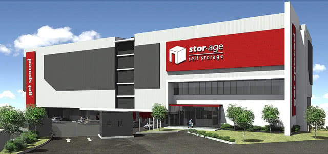 New Store: Stor-Age Sunninghill Under Construction