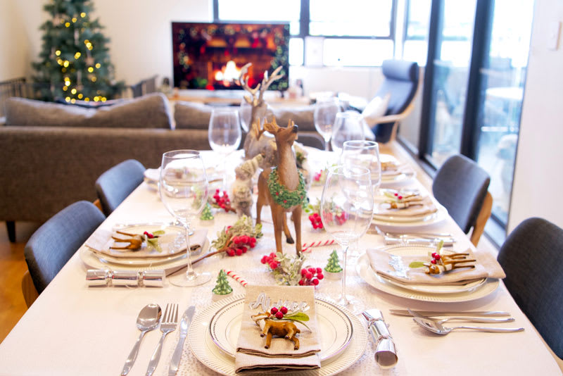 Five fun ways to decorate your table this festive season