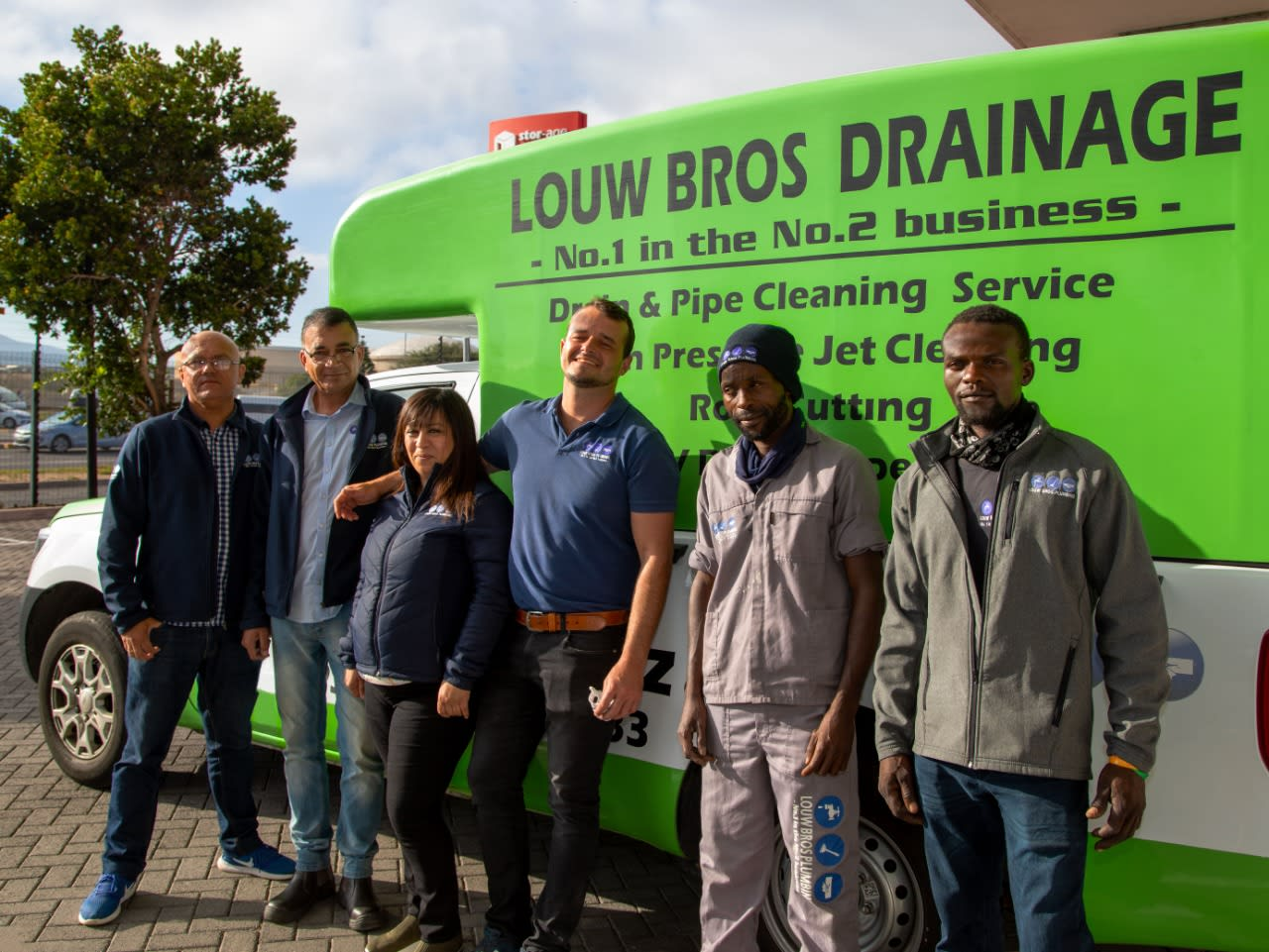 How Louw Bros Plumbing turned their pipe dream into a reality
