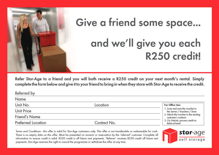Get R250 Discount When You Refer A Friend