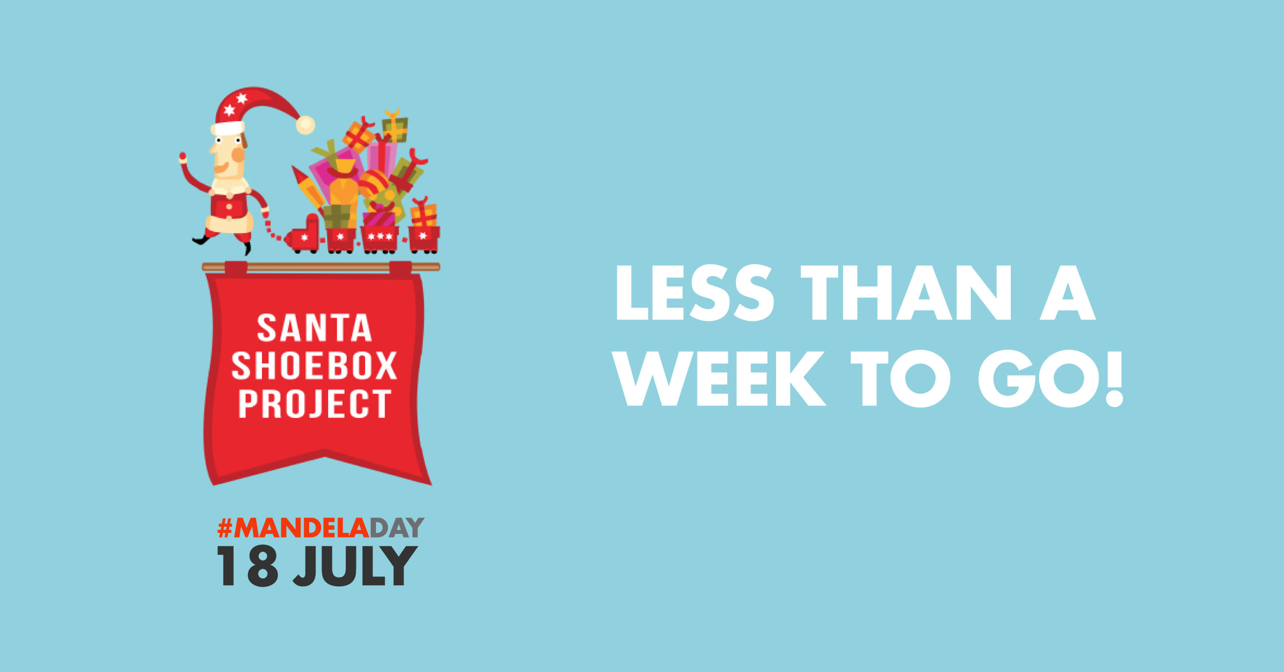 The Santa Shoebox Project Celebrates Mandela Day