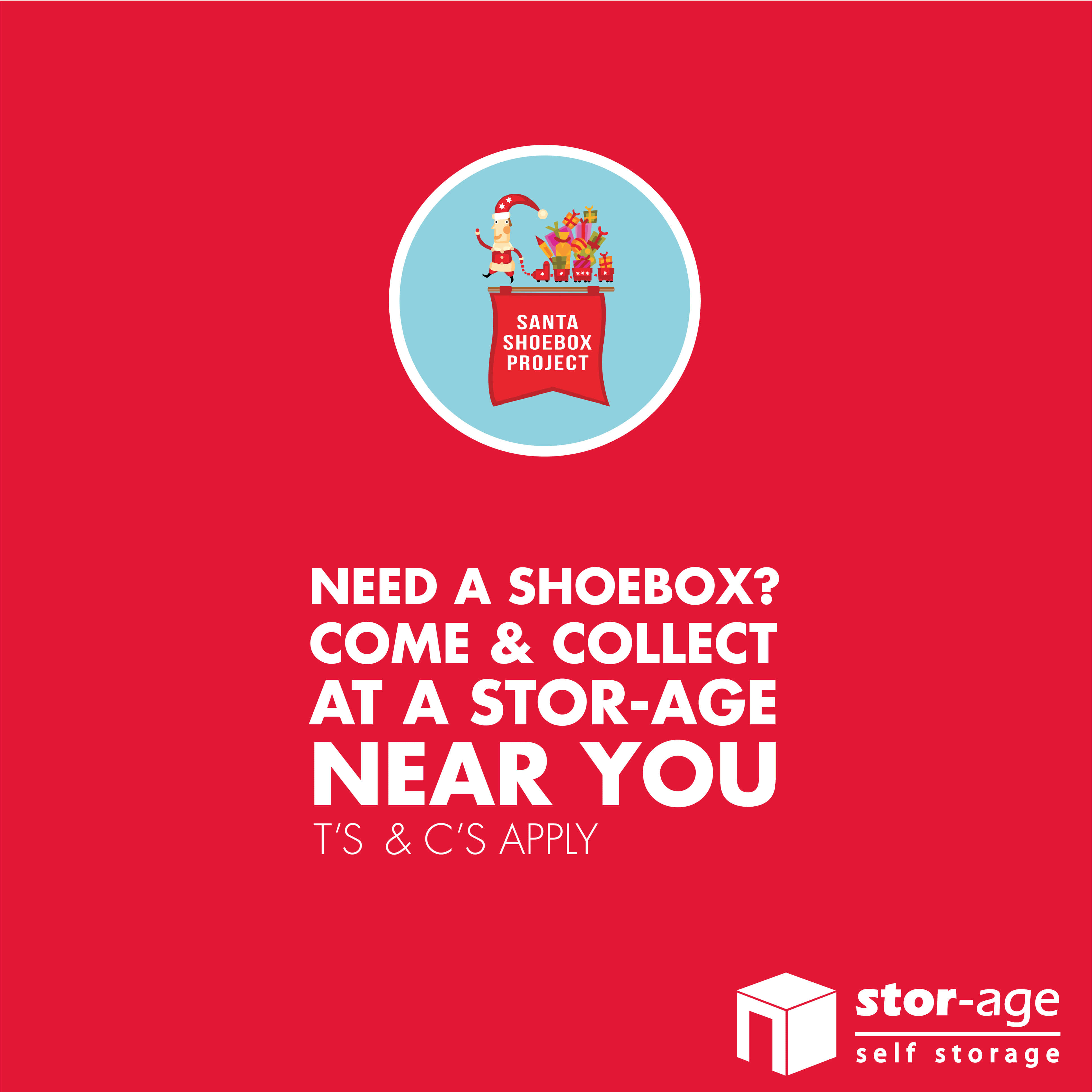 Festive Cheer With Santa Shoebox Partnership
