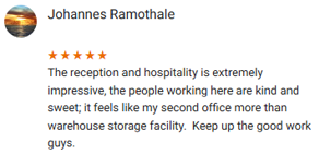 Stor-Age Google Reviews Cape Town